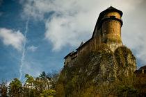 Orava castle by Maciej Juszczak