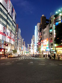 Shibuya by Night by Carlo De Simone