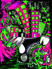 TRIPstep_Pink and green by dave-dz