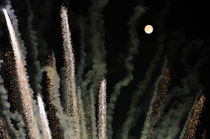 Moonlight & Fireworks by Carlo De Simone