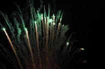 Moonlight & Fireworks von Carlo De Simone
