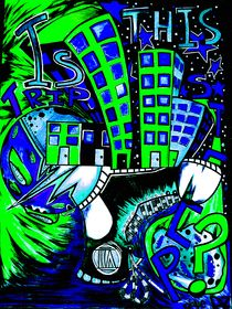 TRIPstep_Green and blue by dave-dz