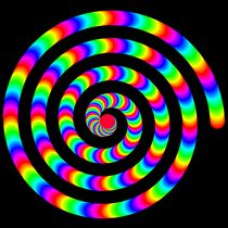 rainbow spiral by Chandler Klebs