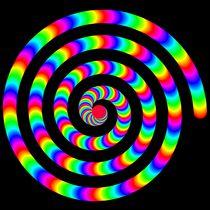 Rainbow-spiral
