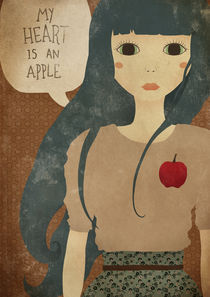 My Heart is an Apple by Ana Vieira