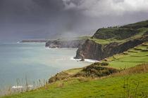 Die Küstenlandschaft auf den Azoren by Andy Fox