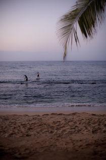Standup-Paddleboarder auf Maui von Andy Fox