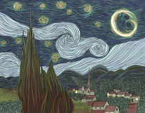 Starry Night by Justin McElroy