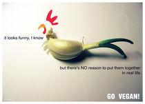 GO VEGAN! von Irmina Knapik
