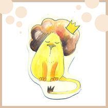 Lion card by Irmina Knapik