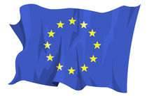 European community flag by William Rossin