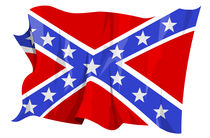 Confederate flag by William Rossin