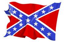 Confederate flag von William Rossin