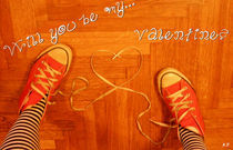 Will you be my Valentine? by Katia Zaccaria-Cowan