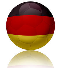 Germany flag ball von William Rossin