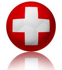 Switzerland flag ball von William Rossin