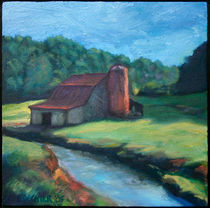 Sugar Grove Barn by Bryan Dechter