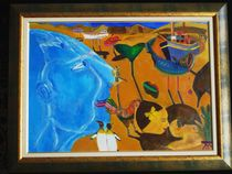 S. Dalli & the sea by Kiril Katsarov