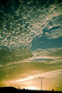Sunset Landscape von Pedro Celestino