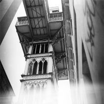 Santa Justa Lift by Pedro Celestino