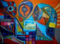 the two headed bird by Kiril Katsarov
