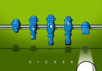 Kicker shoot by kickerposter