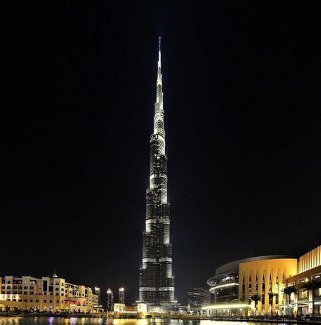 Burj-khalifa-night-star