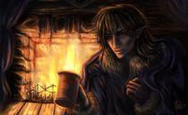 One Winter Evening von Katerina Romanova