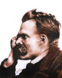 Friedrich Nietzsche by Hagop Der Hagopian