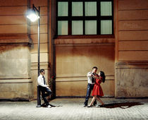 Tango in three by Maria Livia Chiorean