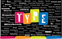 Types of Type by Holly Tillman