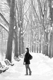 Frozen smile by Maria Livia Chiorean