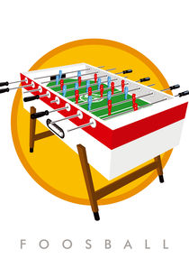 Foosball table | Kickertisch von kickerposter