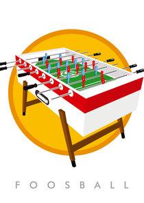 Foosball table | Kickertisch by kickerposter