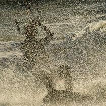 Kitesurfer von Annette Sturm
