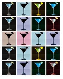 Martini Glasses by Jesse Cruce