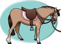 Cute horse von William Rossin