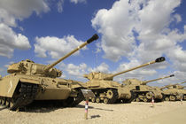 Israel, the Armored Corps Memorial Site and Museum by Hanan Isachar