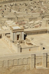 The Model of the Second Temple in Jerusalem by Hanan Isachar