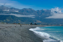 New Zealand shore, Kaikoura von Thomas Klomp