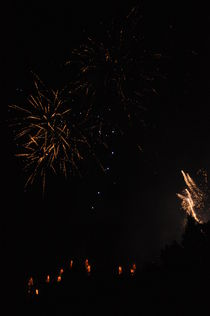 Edinburgh Festival Fireworks #10 by Jolanta Pawlicka