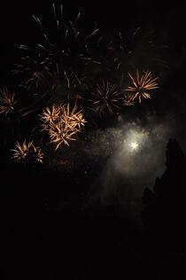 Edinburgh Festival Fireworks #6 by Jolanta Pawlicka