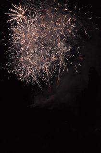Edinburgh Festival Fireworks #1 by Jolanta Pawlicka