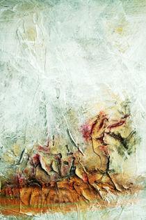 abstrakte Malerei  by Bernhard Kosten