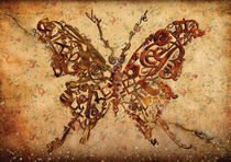 Butterfly sepia by alexey-shpagin