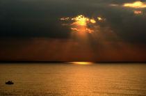 Mediterranean sunrise von Ramon Cami