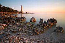 Sunset by the lighthouse von Ivan Coric