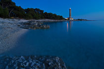 Lighthouse in blue von Ivan Coric