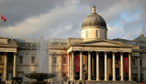 National Gallery, London by Katia Zaccaria-Cowan