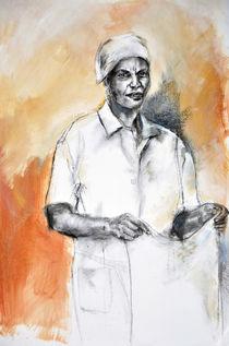 'Sanna - Portrait Study' by Leanie Mentz